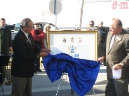 Coat of Arms Unveiling